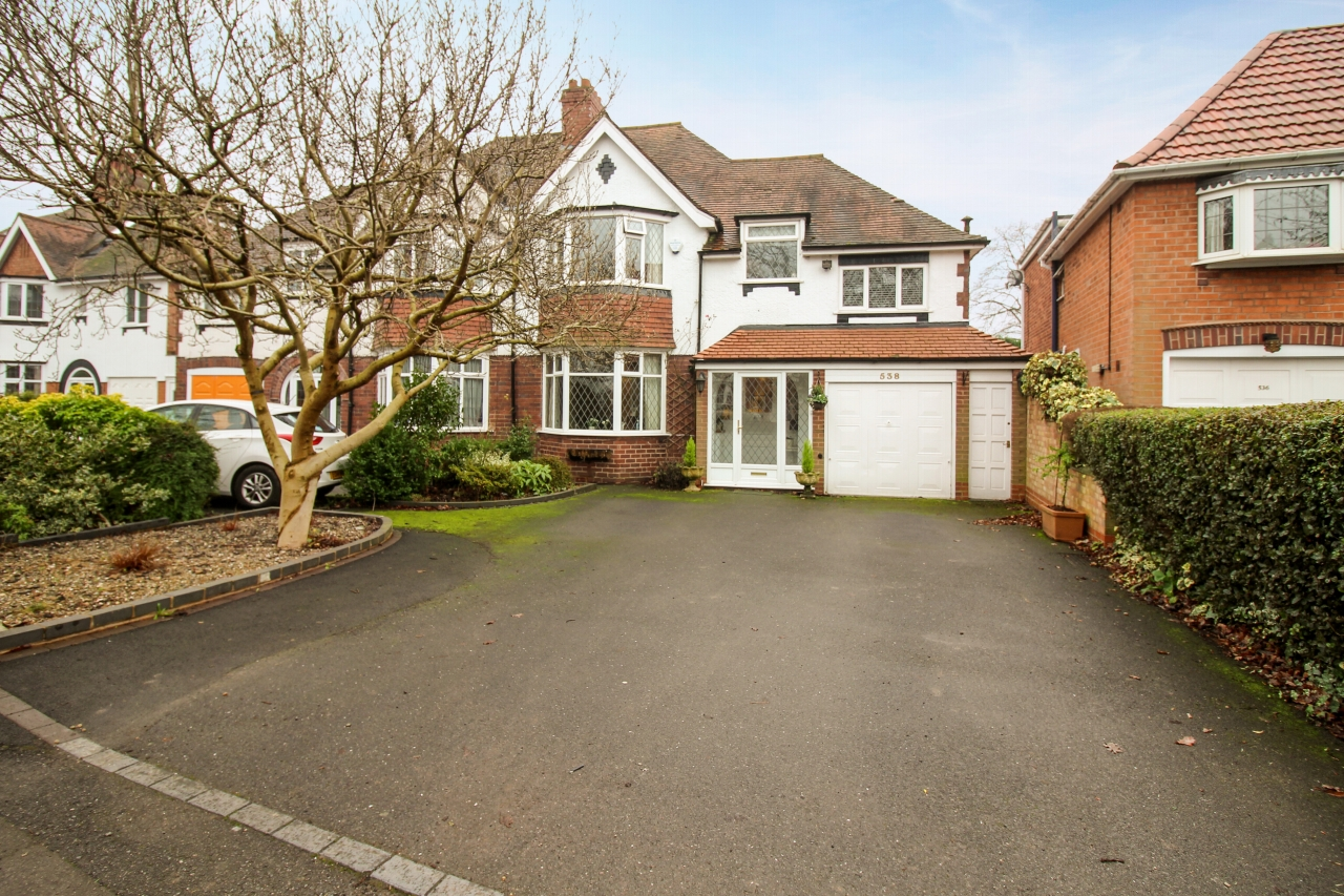 4 bedroom semi detached house SSTC in Solihull - photograph 1.