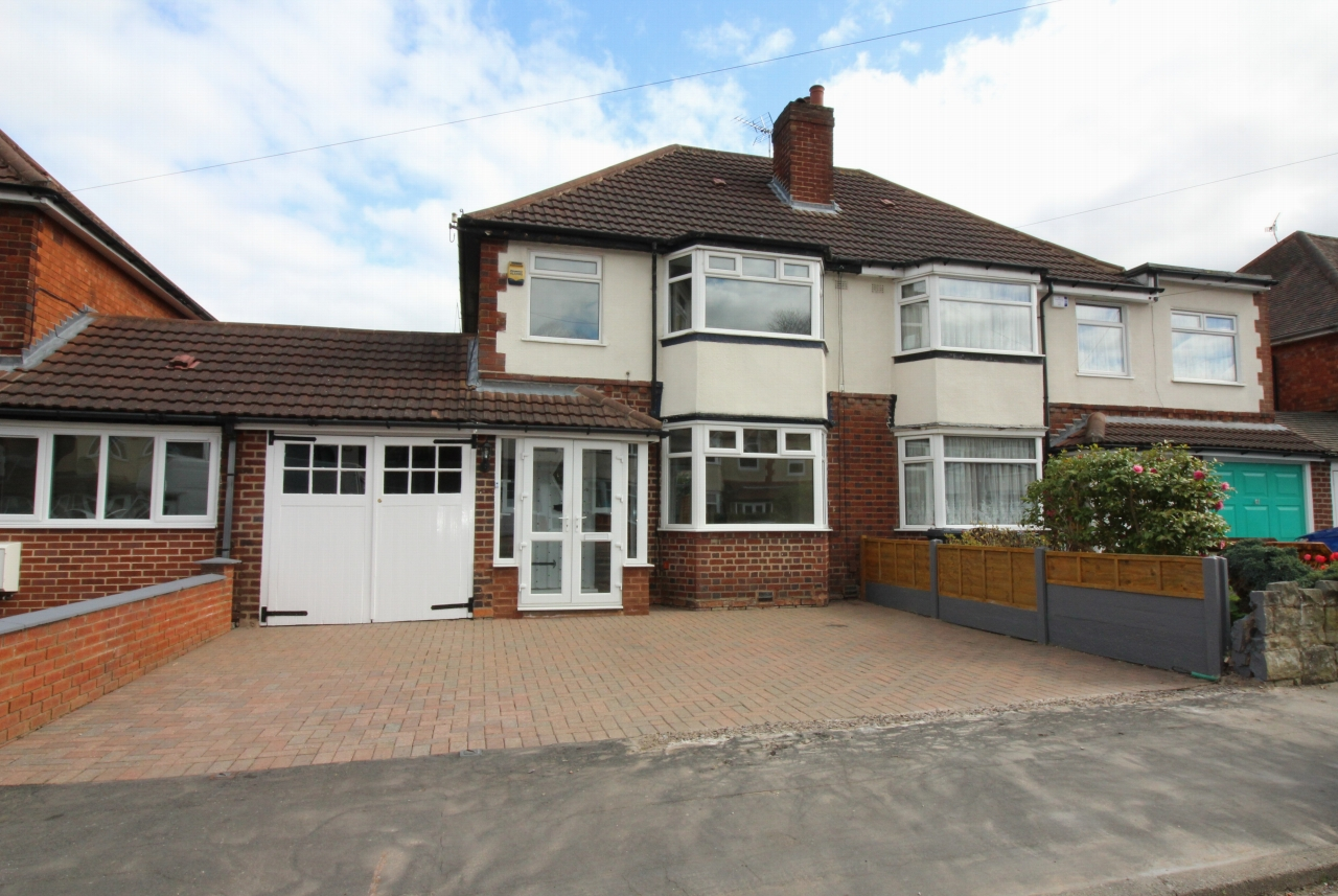 3 bedroom semi detached house Application Made in Solihull - Main Image.