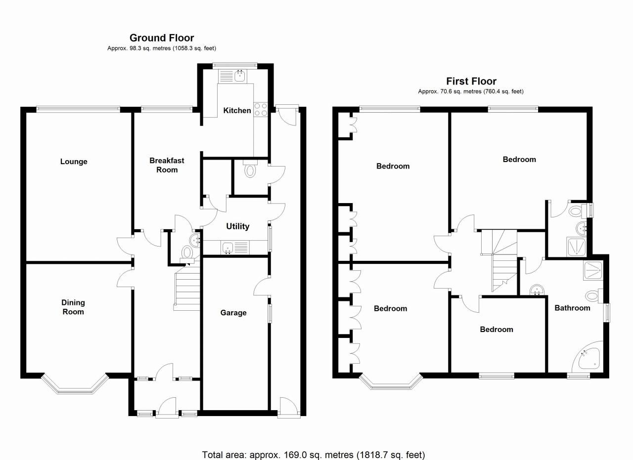 4 bedroom detached house SSTC in Solihull - floorplan 18.