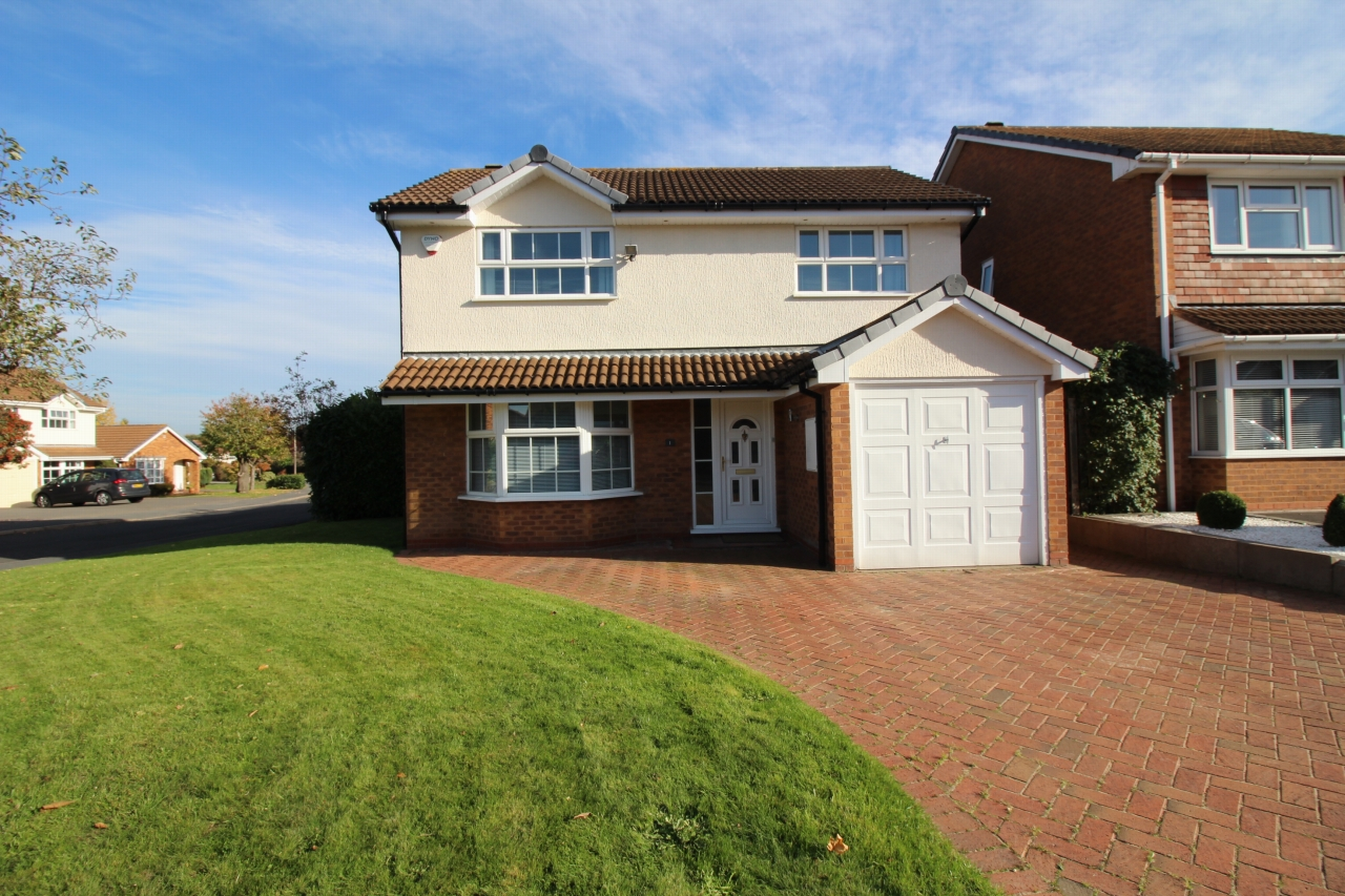 4 bedroom detached house Application Made in Solihull - Main Image.