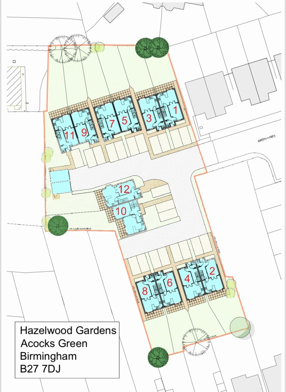 4 bedroom semi detached house Application Made in Birmaingham - floorplan 1.