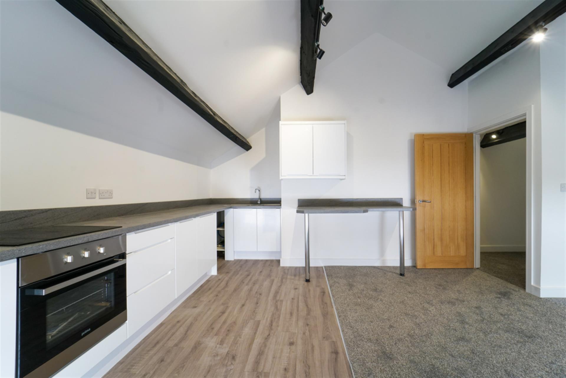 2 bedroom apartment flat / apartment To Let in 96 Watery Lane, Whitehall, Darwen, Lancs - Open Plan Lounge/Kit