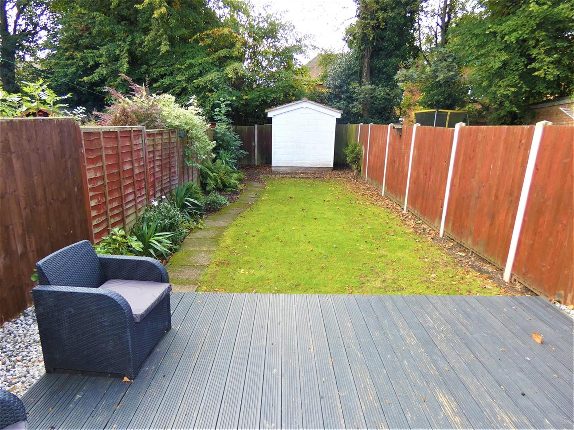 3 Bedroom Terraced House For Sale - Rear Garden