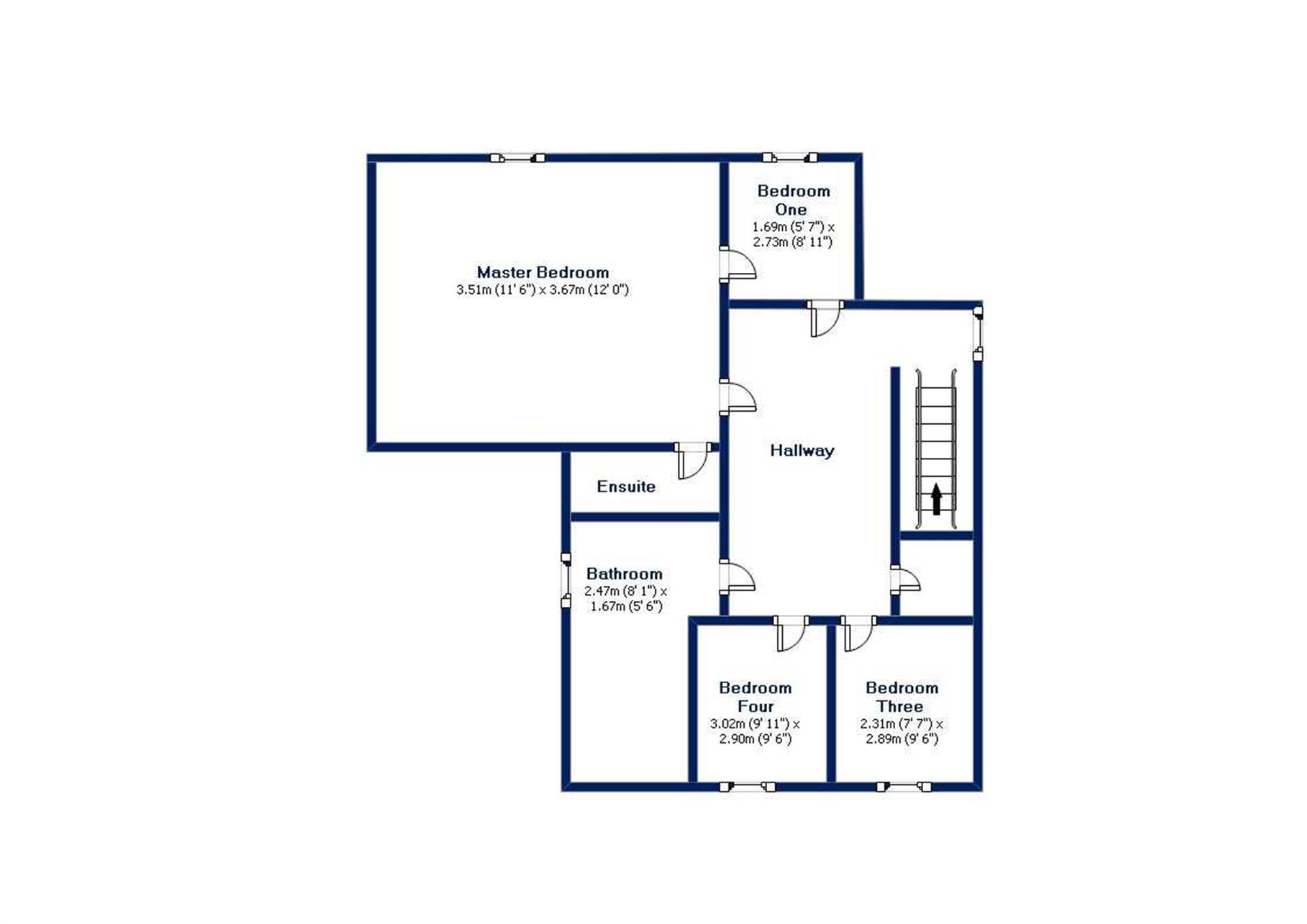 4 Bedroom Detached House For Sale - Floor Plans