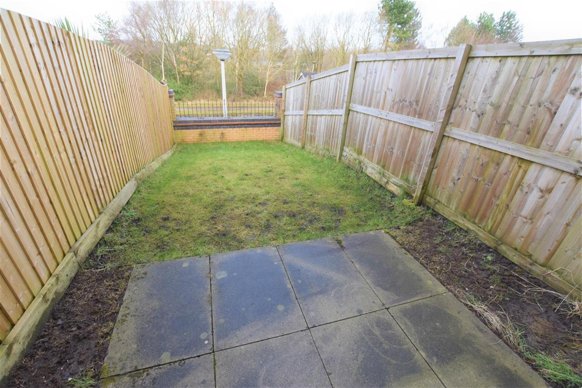 2 Bedroom Mews House For Sale - Rear Garden