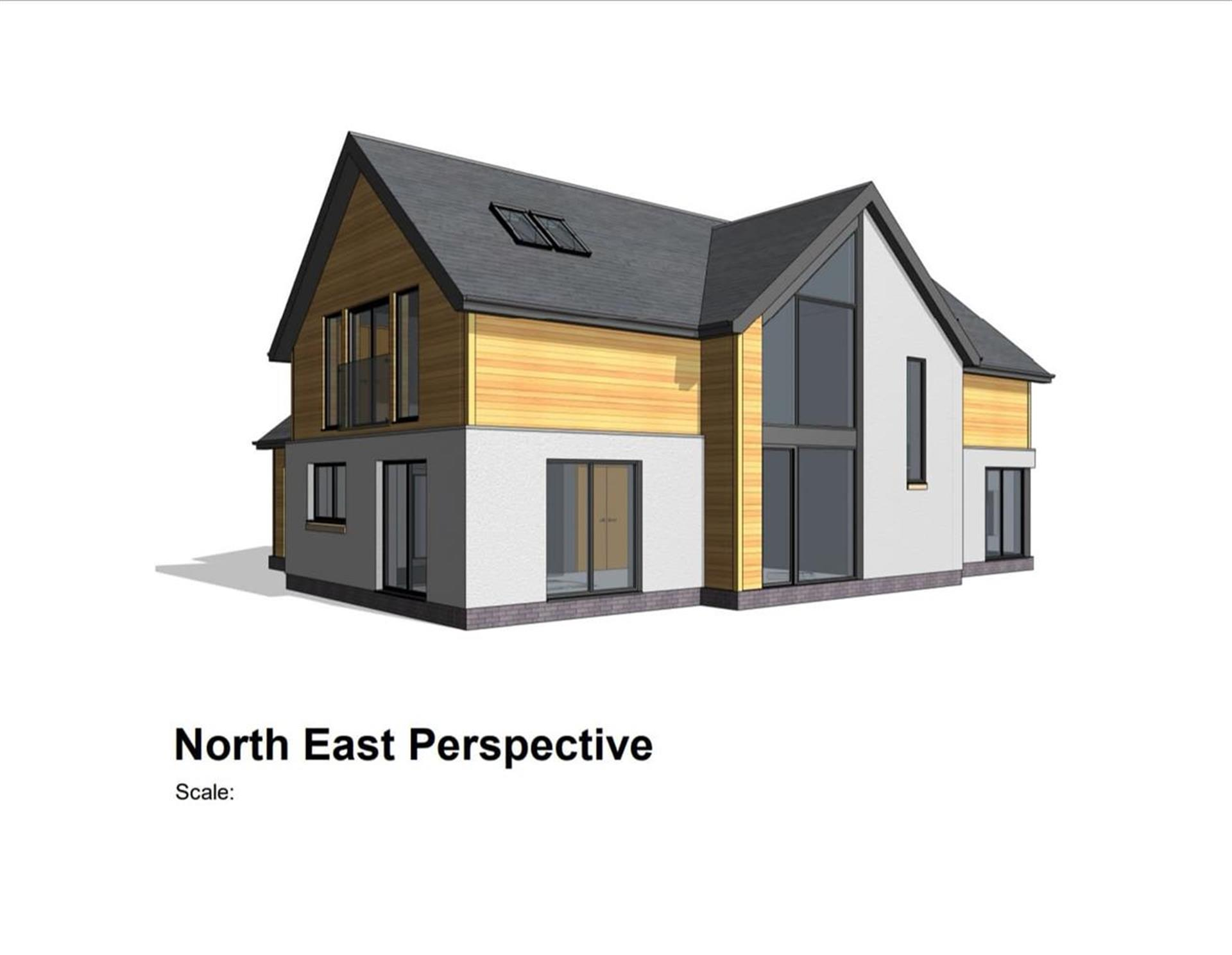 5 Bedroom Detached House For Sale - North East Perspective