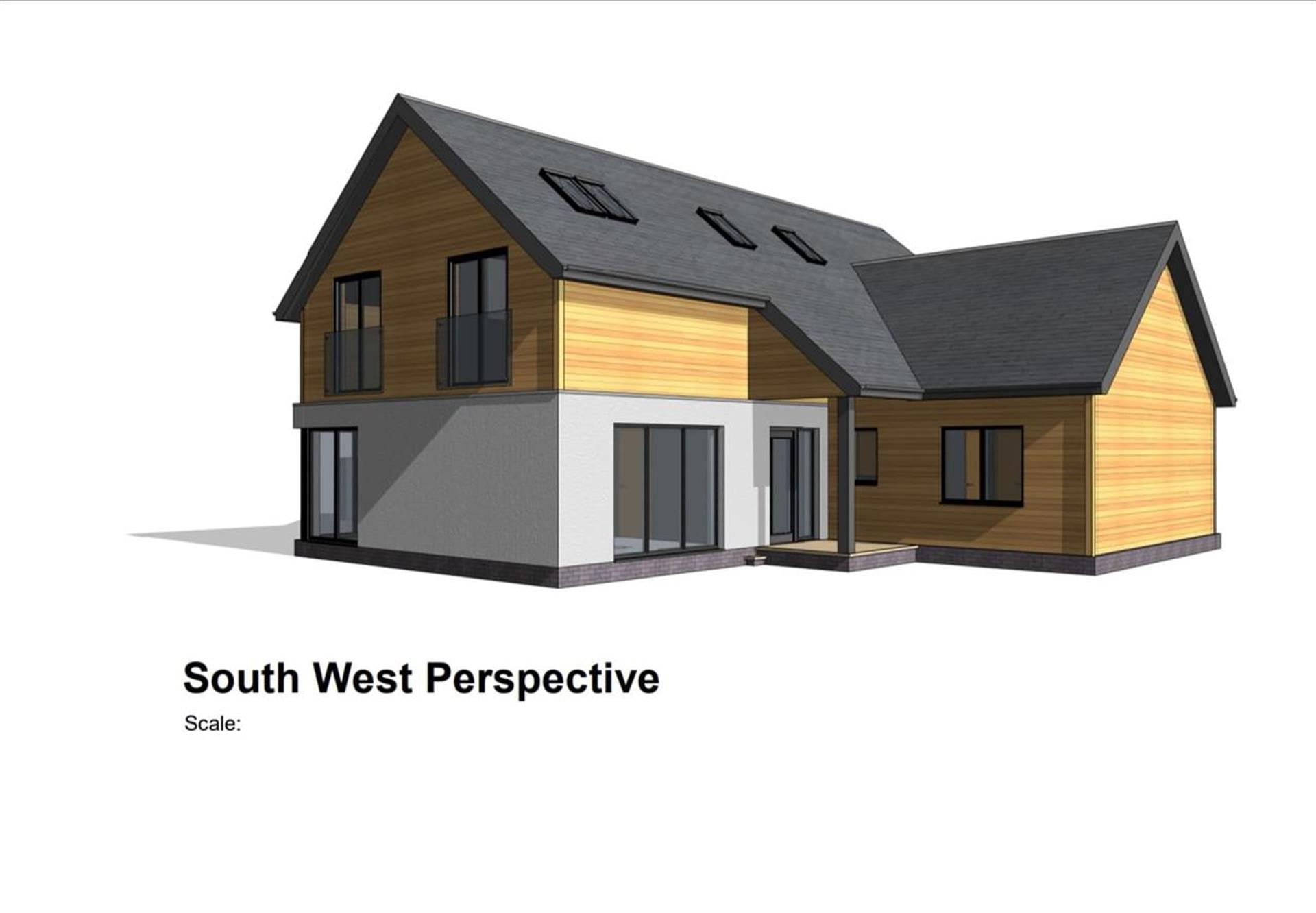 5 Bedroom Detached House For Sale - South West Perspective
