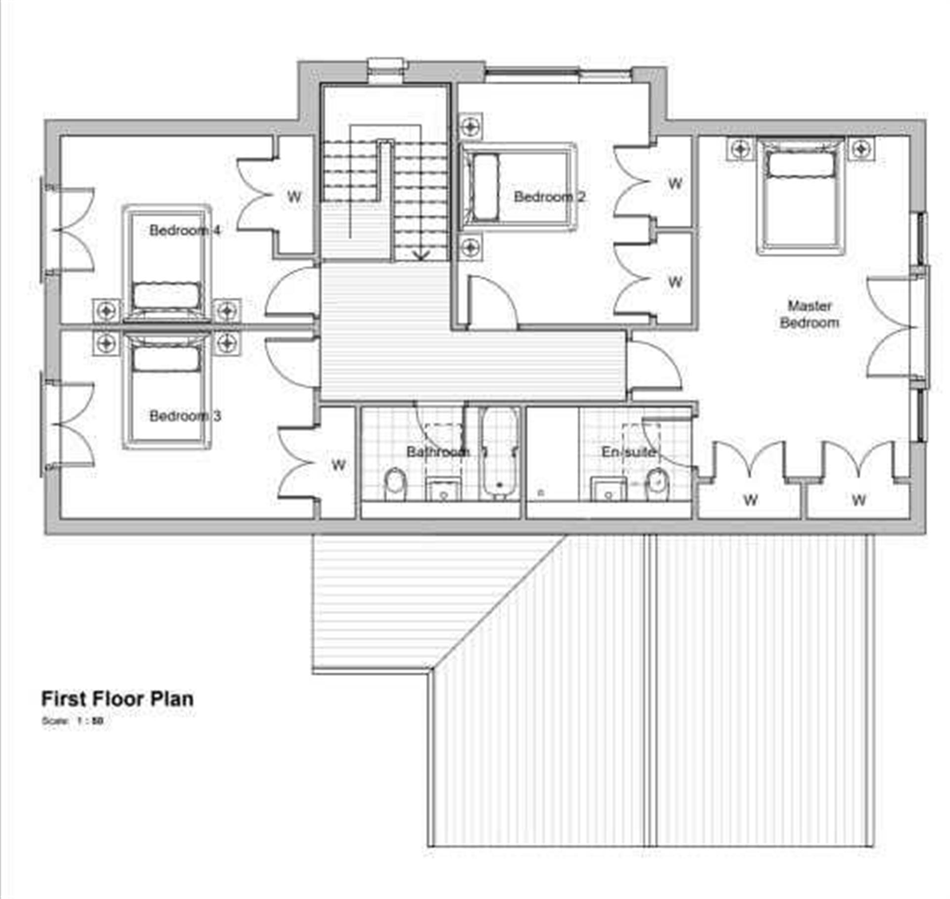 5 Bedroom Detached House For Sale - First Floor Plan